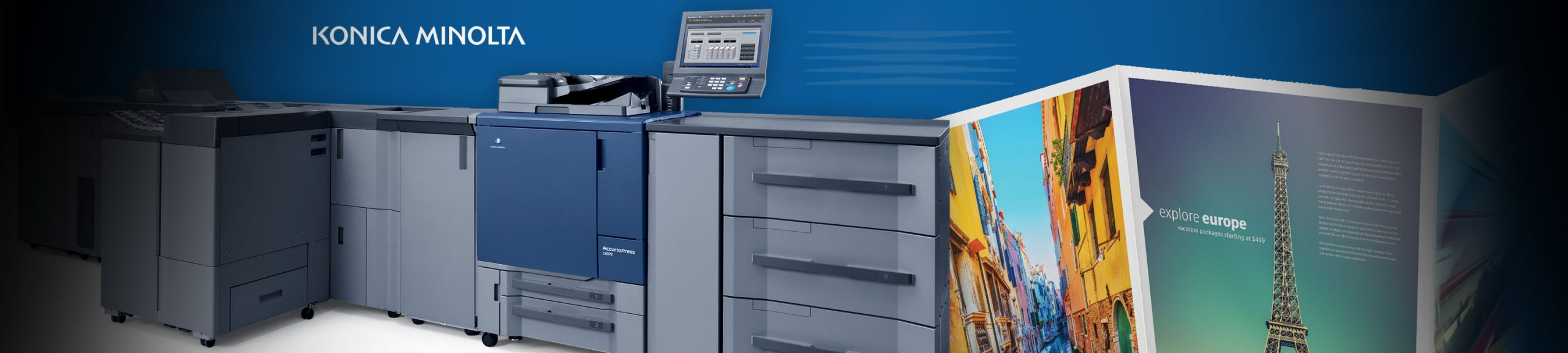 Superior Production Print Solutions from Konica Minolta